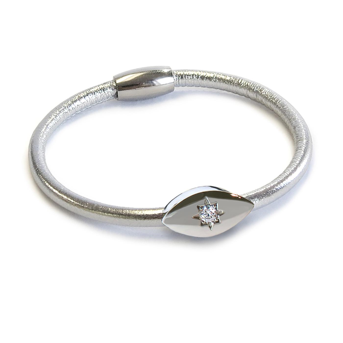 Metallic Evil Eye Starlight Bracelet