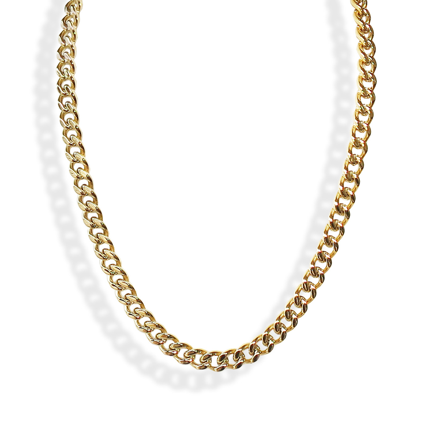 Large Curb Chain Necklace