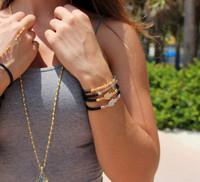 The Hamsa Bracelet