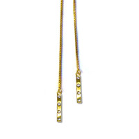Tic Toc Lariat Necklace