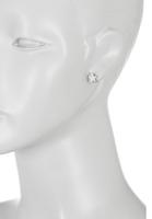 Sterling Silver Touch Star Stud Earrings