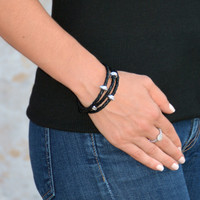 Good Karma Triple Wrap  Silver