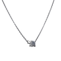 Sterling Silver Lucky Elephant Necklace