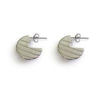 Silver Moonstruck Earrings