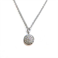 Sterling Silver Delicate Solar Necklace