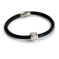 Good Karma Nappa Leather Bracelet
