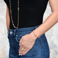 Good Karma Nappa Leather Bracelet
