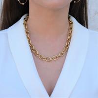 Retro Chain Necklace