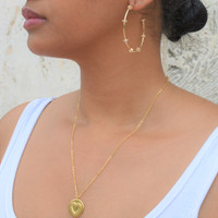 Love Coin Medallion Necklace