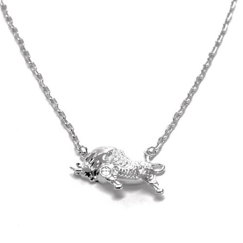 Money Bull Prosperity Necklace