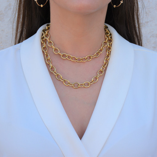 Retro Chain Necklace