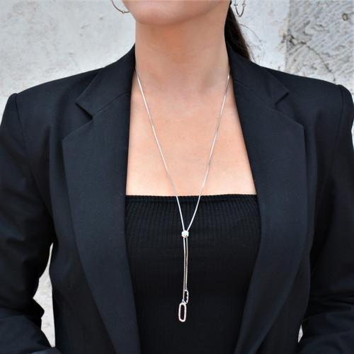 TikTok Lariat Necklace