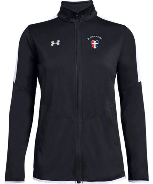 "Ladies Rival Knit Jacket - ""SHIELD"" or ""KNIGHT"" {colors: black, gray, navy}"