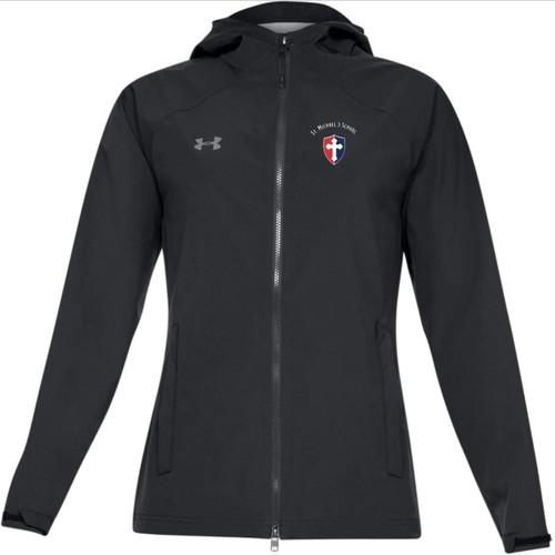 "Ladies Storm Rain Jacket - ""SHIELD"" or ""KNIGHT"" {colors: black, gray, navy}"