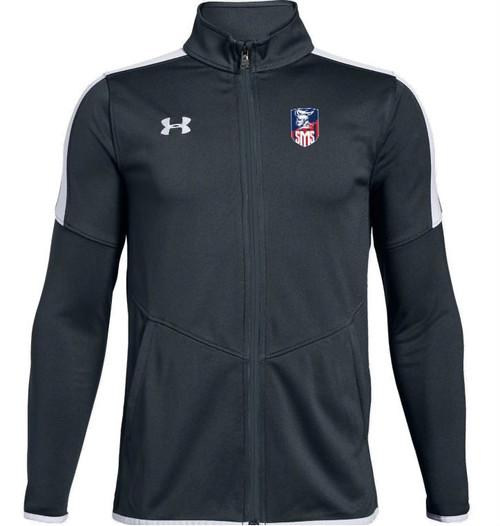 "Youth Rival Knit Jacket - ""SHIELD"" or ""KNIGHT"" {colors:  black, gray, navy}"