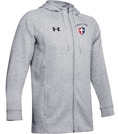 "Men's Hustle Fleece FZ Hoody - ""SHIELD"" or ""KNIGHT"" {colors: black, gray, navy}"