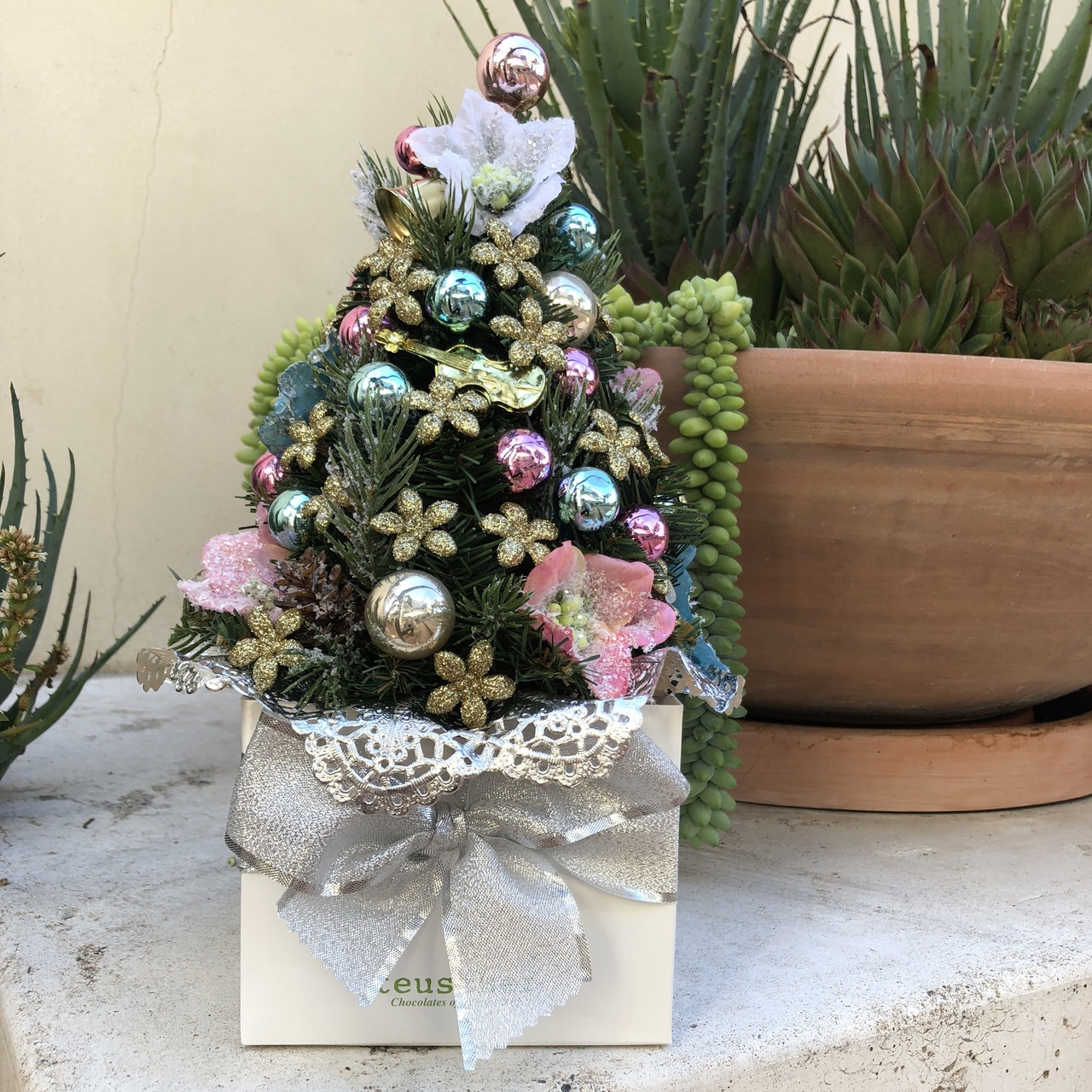 Christmas Snow Collection 25, 32 and 48 pieces - Teuscher San Diego
