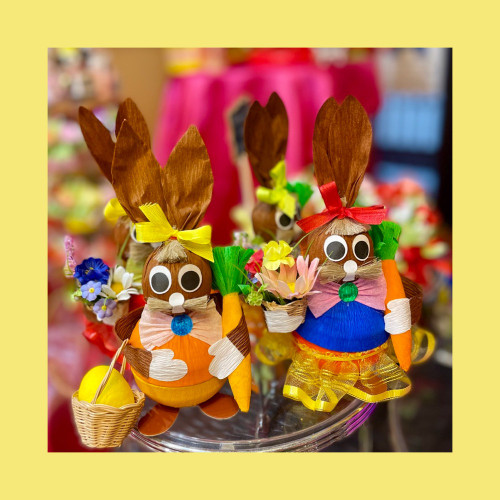Easter Bunny box - 2 pieces
