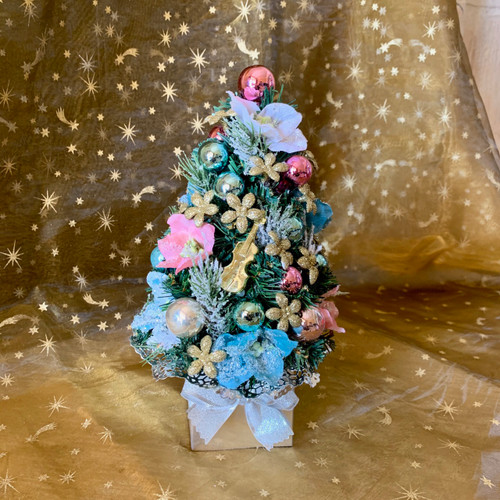 Christmas Tree Snow Collection  8 pc cube