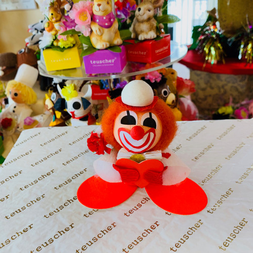 Valentine clown  1pc