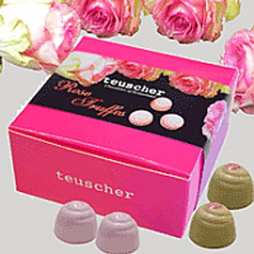 Rose Truffle - 4 pieces Box