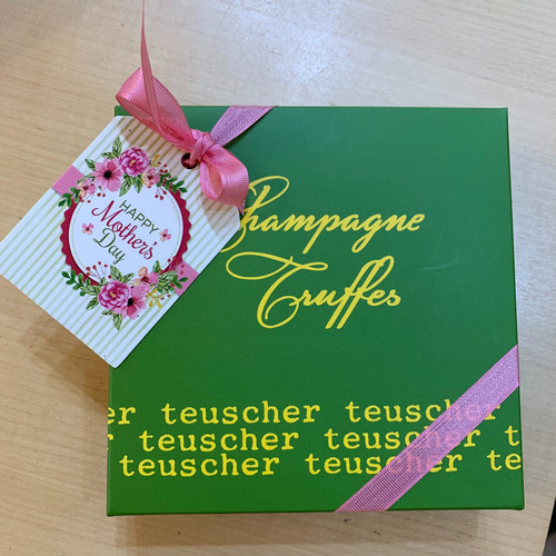 MOTHER'S DAY  Champagne Truffles Classic Box 4,9,16,24,32,36,48,72 pieces