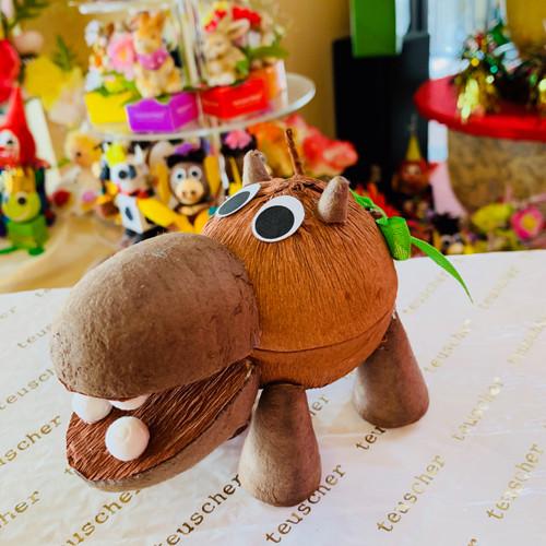 Hippopotamus 2 pc