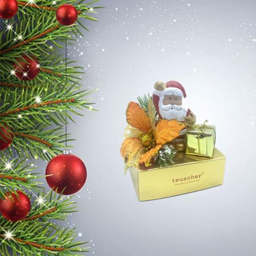 Santa ceramic  4pc