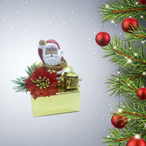 Santa ceramic  7pc