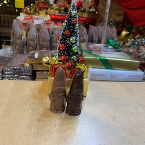 Solid Chocolate Gnomes - Stocking stuffers