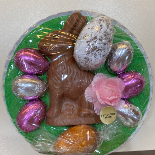 Easter Nest  Bunny Champagne and Nougat Egg