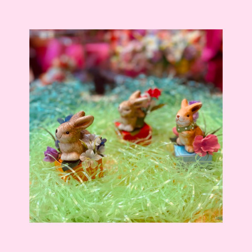 Easter Bunny Box of 1 pc Ceramic