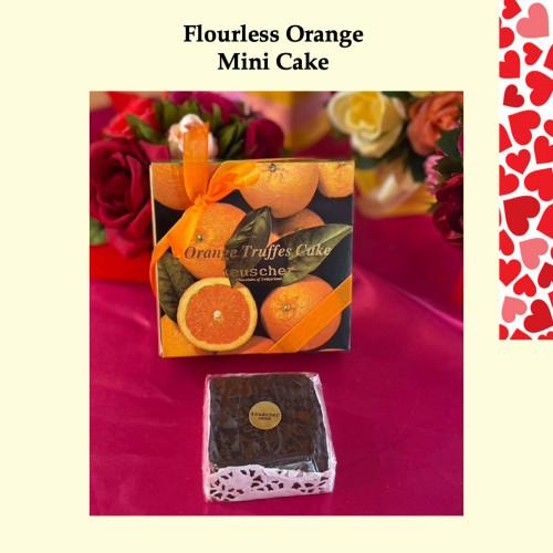 OrangeTruffes flourless Chocolate Cake