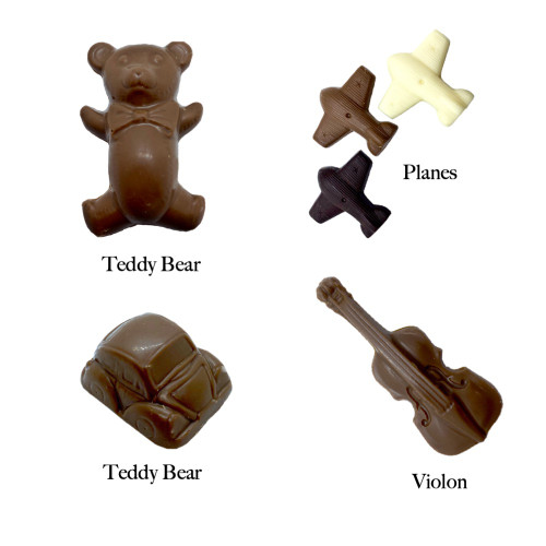 Choose your solids chocolates