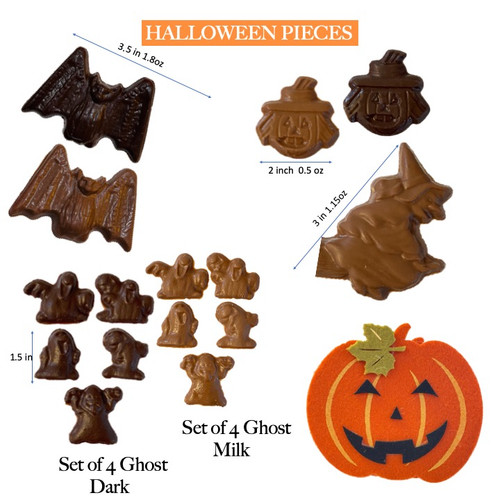 Choose your Halloween pieces