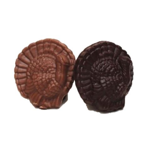 Turkey  medallion solid chocolate dark