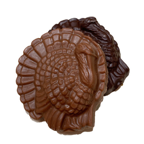 Turkey  medallion solid chocolate dark SOLD OUT