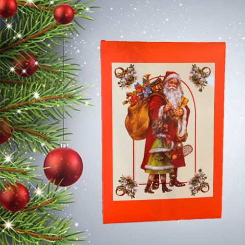 CHRISTMAS Truffle and Pralines Santa and girl