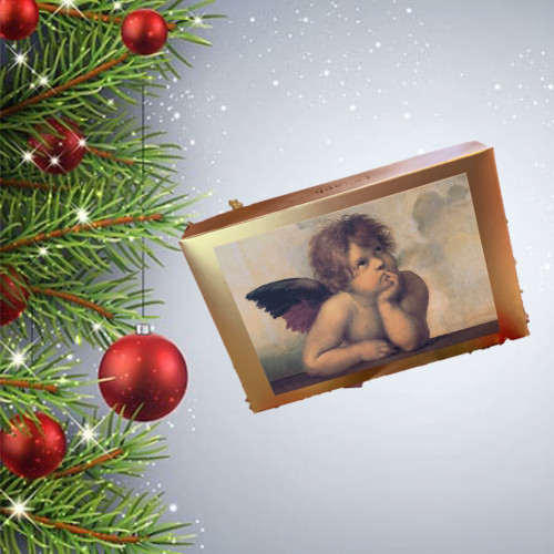 CHRISTMAS Truffle and Pralines Angel