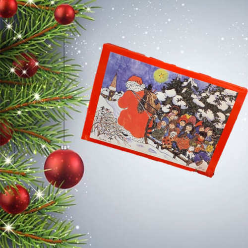 Christmas Gift Santa Box Truffles & Pralines
