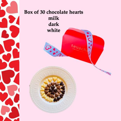 Valentine hearts 30pc