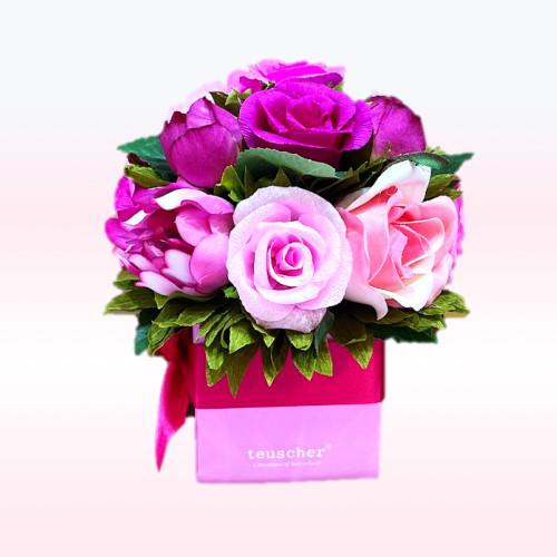 ROSE rose violet  18 pc