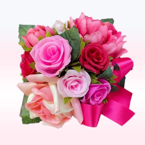 Rose  rose multi red - 16 pc