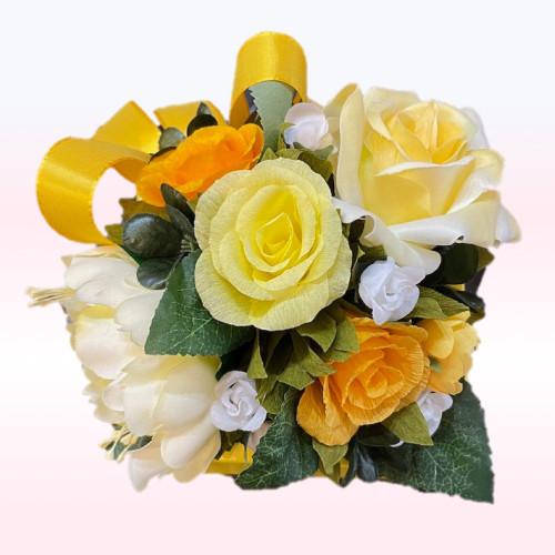 Rose  rose jaune 16pc