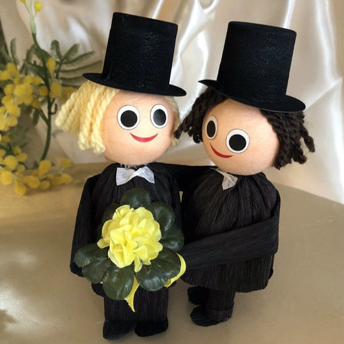 Bridal Couple: Man & Man - 2 pcs Box