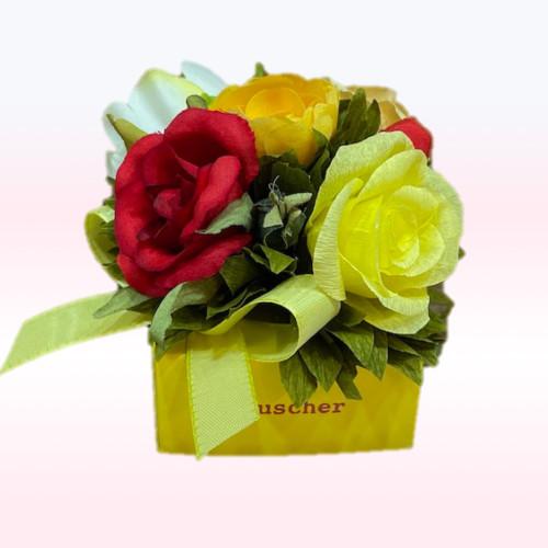 ROSE jaune  4pc