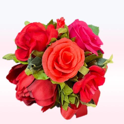 ROSE rouge  4pc