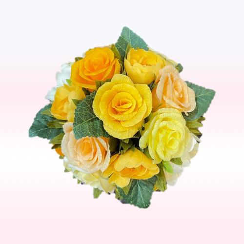 ROSE jaune  8 pc