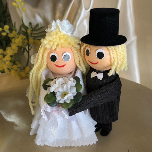 Bridal Couple: Man & Woman - 2 pcs Box