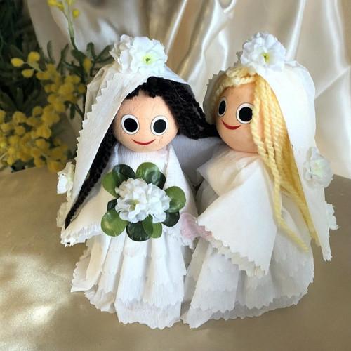 Bridal Couple: Woman & Woman - 2 pcs Box